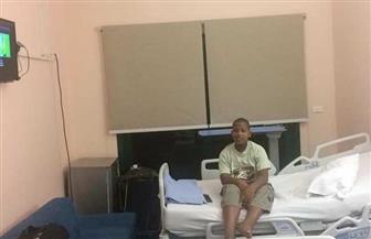 وصول الطفل البوروندي بروس موجيشا  إلى مصر للعلاج على نفقة الأزهر