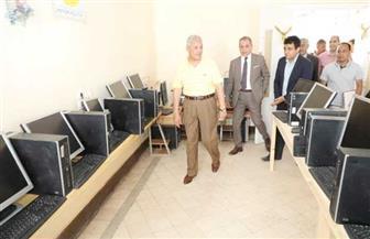 محافظ المنوفية يفتتح المدرسة الثانوية الفنية للتمريض بسرس الليان | صور