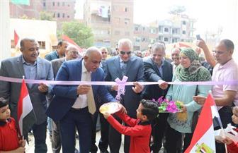 افتتاح مدرسة أمهات المؤمنين للتعليم الأساسي بالهرم بتكلفة 12 مليون جنيه | صور