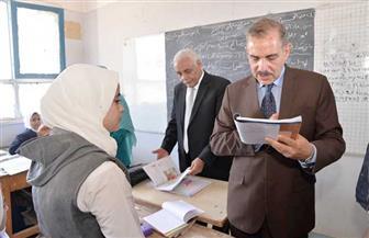 محافظ أسيوط يتفقد مدرستي الزهراء وأبنوب الإعدادية بنات