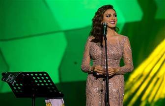 أنغام تحيي حفل العيد الوطني للسعودية | صور