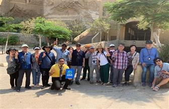 "وصول أول فوج كوري تابع لـ""تيز تور - مصر"" | صور"