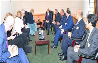 بسام راضي: الرئيس السيسي يلتقي رئيسة وزراء النرويج | صور
