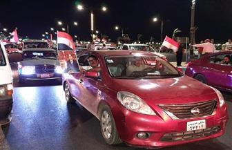 مسيرة داعمة للرئيس السيسي في السويس | فيديو وصور