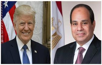 قمة بين الرئيس السيسي ودونالد ترامب بعد قليل