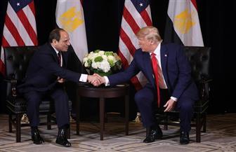 دونالد ترامب يشكر الرئيس السيسي لحسن استقبال زوجته أثناء زيارتها لمصر | فيديو