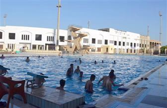افتتاح فرع البنك الأهلي بنادي بني عبيد الرياضي.. والانتهاء من حمام السباحة خلال شهرين