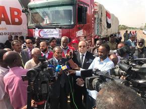 مصر ترسل الحزمة الثانية من المساعدات الإنسانية للأشقاء في السودان | صور