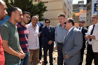 رئيس جامعة طنطا يتابع أعمال الإنشاءات بمستشفى جراحات الكلى الجديد | صور