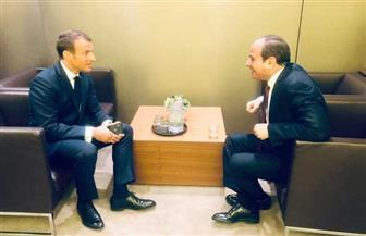 الرئيس السيسي يلتقي نظيره الفرنسي بمقر الأمم المتحدة في نيويورك| صور وفيديو