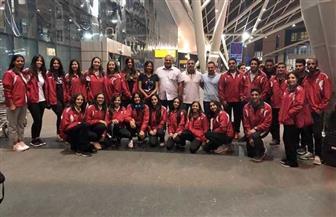 بعثة الجمباز تغادر مطار القاهرة إلى إيطاليا للمشاركة في بطولة البحرالمتوسط  للناشئين