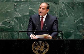 """""""مستقبل وطن"""": خطاب الرئيس السيسي بالأمم المتحدة أعطي العالم دروسًا في الإنسانية"""