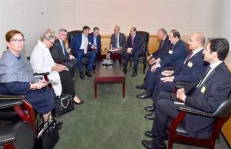 الرئيس السيسي يلتقى نظيره المجري.. ويشيد بعلاقات الصداقة التاريخية بين البلدين