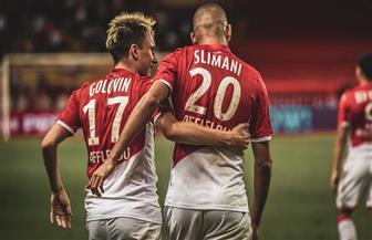 موناكو يحقق أول انتصار في الدوري الفرنسي على حساب نيس