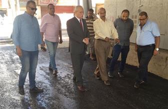 محافظ الأقصر: الانتهاء من أعمال إصلاح الطرق بوسط المدينة أول نوفمبر | صور