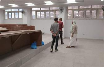 """الانتهاء من أعمال ترميم مبنى """"فنون جميلة"""" بجامعة الإسكندرية بتكلفة 31 مليون جنيه  صور"""