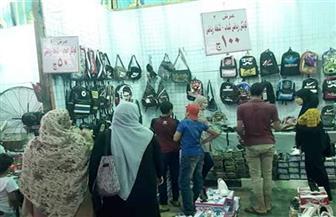 مستقبل وطن بسوهاج: مد العمل فى  أكبر معرض لبيع مستلزمات المدارس بالمحافظة | صور