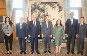 الخارجية الصينية تقيم حفل توديع بمناسبة انتهاء فترة مهمة السفير المصري في بكين | صور