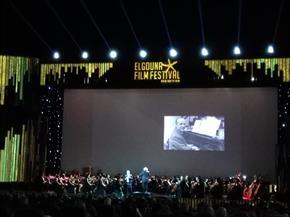 الجونة السينمائي يحيي حفل موسيقى الأفلام ويهديه لروح الراحل عزت أبو عوف | صور