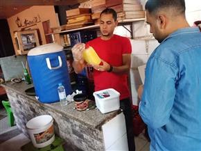 صحة المنوفية: إعدام 97 كيلو أغذية فاسدة بمحيط الجامعة| صور