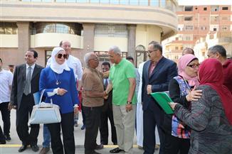 محافظ المنوفية يفتتح معرض «تحيا مصر» لمستلزمات المدارس بشبين الكوم | صور
