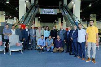 افتتاح معرض دمياط للأثاث في أرض المعارض بمدينة نصر | صور