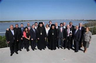 البطريرك يوسف العبسي يلتقي أعضاء السلك الدبلوماسي في الأرجنتين | صور