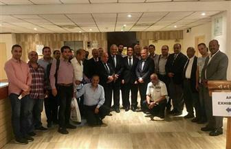 السفير المصري في أكرا يلتقي أعضاء بعثة تجارية مصرية في مجال الصناعات الكيماوية والأسمدة | صور