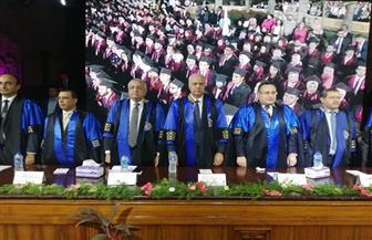 جامعة الإسكندرية تحتفل بتخريج الدفعة 73 من كلية الهندسة | صور