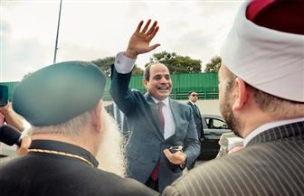 الرئيس السيسي يصل الى أرض الوطن عقب مشاركته بأعمال الجمعية العامة للأمم المتحدة| صور