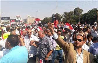 """مسيرات تأييد للرئيس في المنيا.. ومواطن: """"الجميع خرج ليقول تحيا مصر"""""""