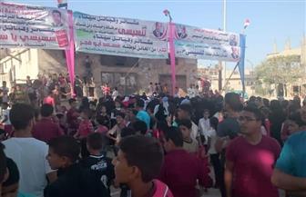 مظاهرات بالشيخ زويد بسيناء لتأييد الرئيس السيسي والتبرؤ من مسعد أبو فجر| صور