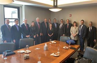تفاصيل لقاء وزير الخارجية بوفد اللجنة اليهودية الأمريكية على هامش اجتماعات الجمعية العامة للأمم المتحدة