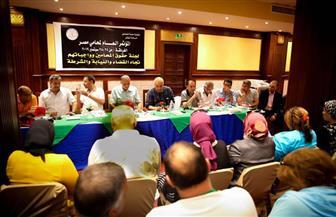 سامح عاشور يترأس جلسة المقترحات الخاصة بتوصيات لجان مؤتمر المحامين السنوي بالغردقة   صور