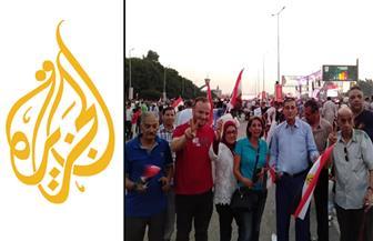 وائل الإبراشي: قناة الجزيرة تجيد لعبة صناعة الفوضى والشعب رد عليها اليوم