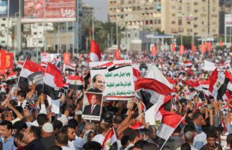 حمدي رزق: حشود المصريين اليوم تكرار لصورة 30 يونيو الخالدة |فيديو
