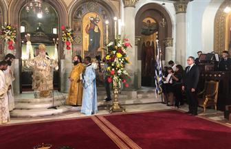 وزير الآثار يشهد مراسم افتتاح الكنيسة اليونانية بالقاهرة بعد ترميمها |  صور