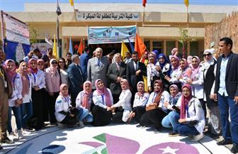 بحضور رئيس جامعة السادات.. كلية التربية للطفولة المبكرة تحتفل بالعام الدراسي الجديد | صور