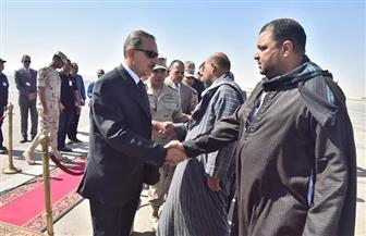 محافظ أسيوط يتقدم جنازة شهيد الواجب الوطني محمود خليل| صور