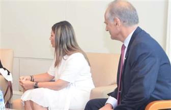 وفد يوناني يبحث مع مسئولي وزارة الهجرة إطلاق نوستوس 4 لشباب مصر واليونان وقبرص
