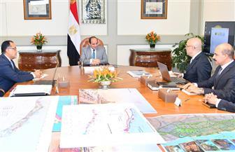 الرئيس السيسي يستعرض الموقف التنفيذي للمدن الجديدة الجاري تشييدها في الصعيد