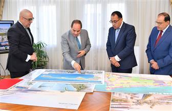 تفاصيل اجتماع الرئيس السيسي مع رئيس الوزراء ووزير الإسكان | صور