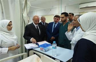 إحالة 75 طبيبا وعاملا بمستشفى الحسينية المركزي في الشرقية للتحقيق| صور