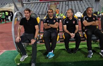 كارت أحمر لمترجم الأهلي خلال استراحة مباراة كانو سبورت
