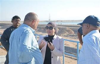 نائبة محافظ البحر الأحمر تتفقد مشروعات مدينة الغردقة | صور