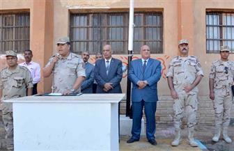افتتاح مدرسة الأقصر الثانوية الميكانيكية العسكرية | صور