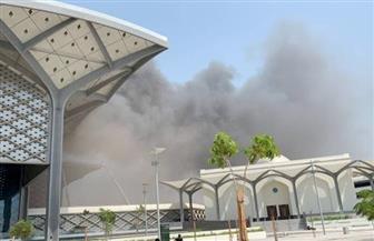 حريق في محطة قطار الحرمين بجدة.. ولا إصابات حتى الآن