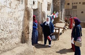 """قومي المرأة بسوهاج يطلق حملة طرق الأبواب """"بلدى أمانة"""""""