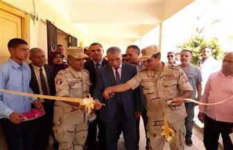 وكيل تعليم شمال سيناء يفتتح مدرسة الشهيد سمير شراب الصناعية العسكرية بالعريش | صور