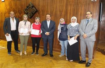 مجلس جامعة طنطا يكرم الفائزين بالمركز الأول على مستوى الجامعات في إنتاج محتوى إلكتروني   صور